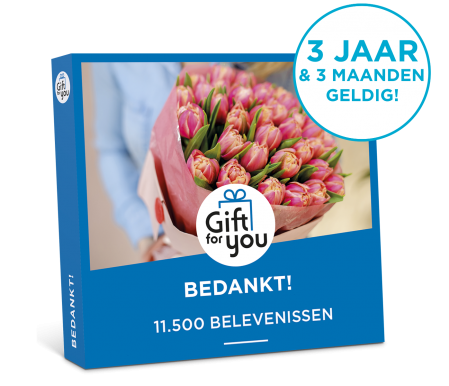 Gift For You Bedankt
