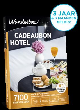 Wonderbox cadeaubon hotel