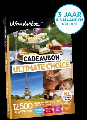 Wonderbox Cadeaubon Ultimate choice