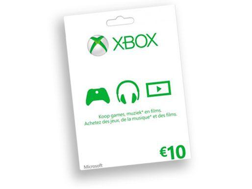 Xbox live €10