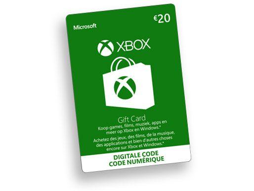 €20,- Xbox Digital Gift Card
