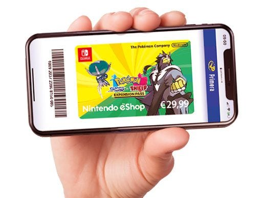 Nintendo Pokémon code