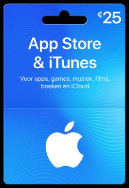 App Store & iTunes €25