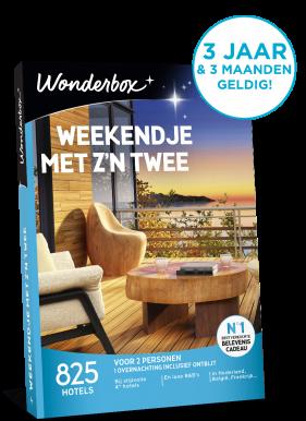 Wonderbox weekendje met z'n twee