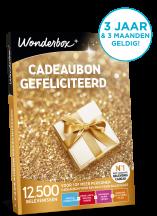 Wonderbox cadeaubon Gefeliciteerd!
