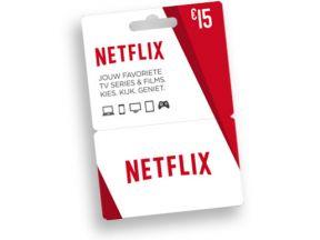 €15 Netflix cadeaukaart