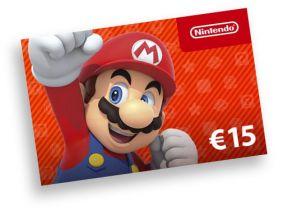 Nintendo code €15