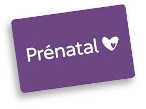 Prenatal Cadeaukaart