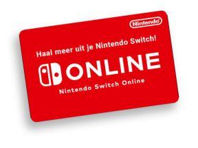 Nintendo Switch Online Abonnement 12 maanden