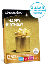 Wonderbox Happy Birthday
