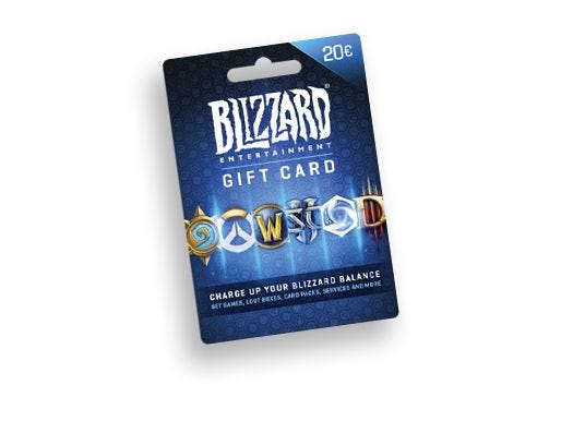 Blizzard tegoedkaart €20